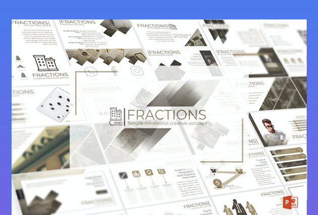Fractions with Cool Background