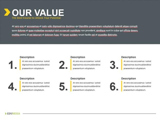 Edunesia - Education PowerPoint Template