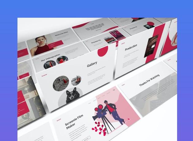 Film Maker PowerPoint Template