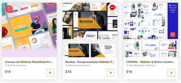 GraphicRiver Webinar Templates