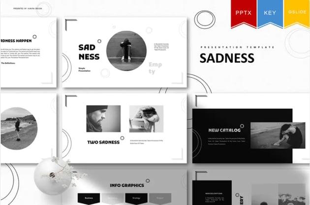 Sadness Funeral Template