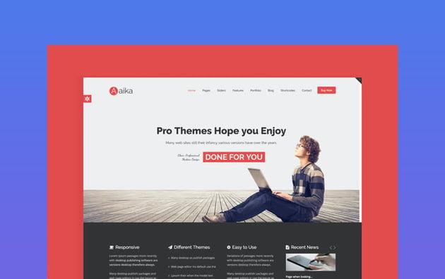 Aaika Responsive Multipurpose Joomla Template