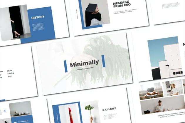 Minimally Photo Collage Template