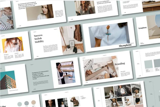 Symphony PowerPoint Template
