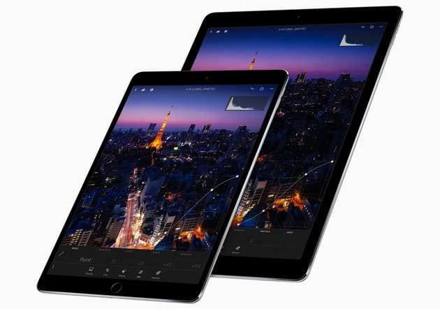 iPad Pro 105 and 129-inch