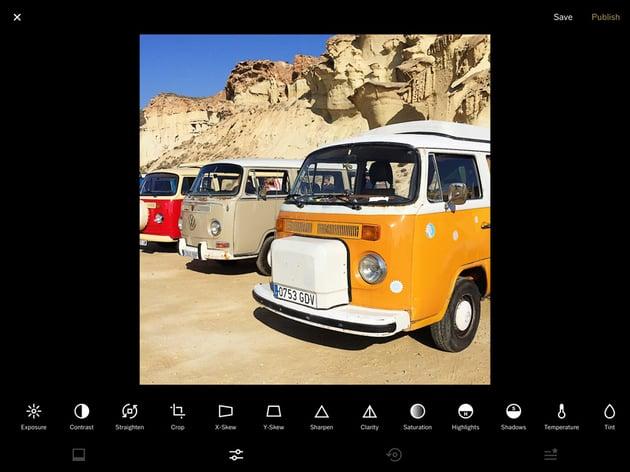 VSCO photo editing app