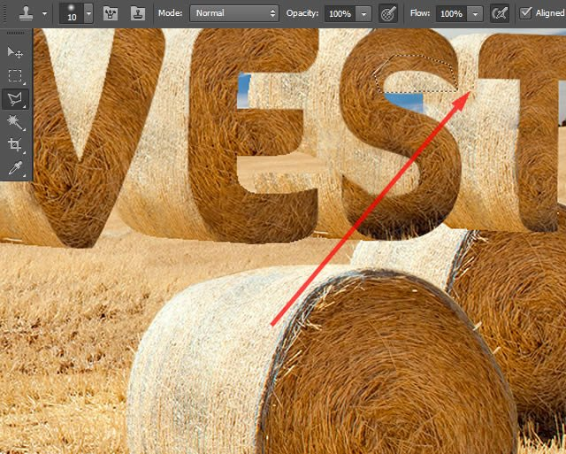Create Textured Letters
