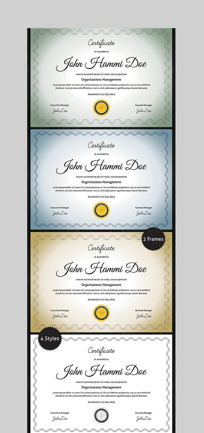Word Certificate Template Designs to Award Achievement 22 Throughout Award Certificate Templates Word 2007