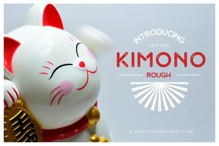Kimono Font from Envato Elements recommendation
