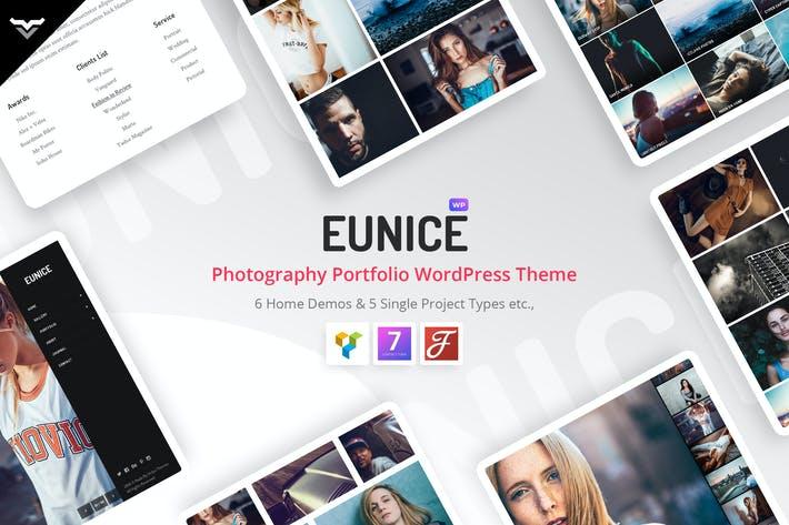 Eunice - Photography Portfolio WordPress Theme