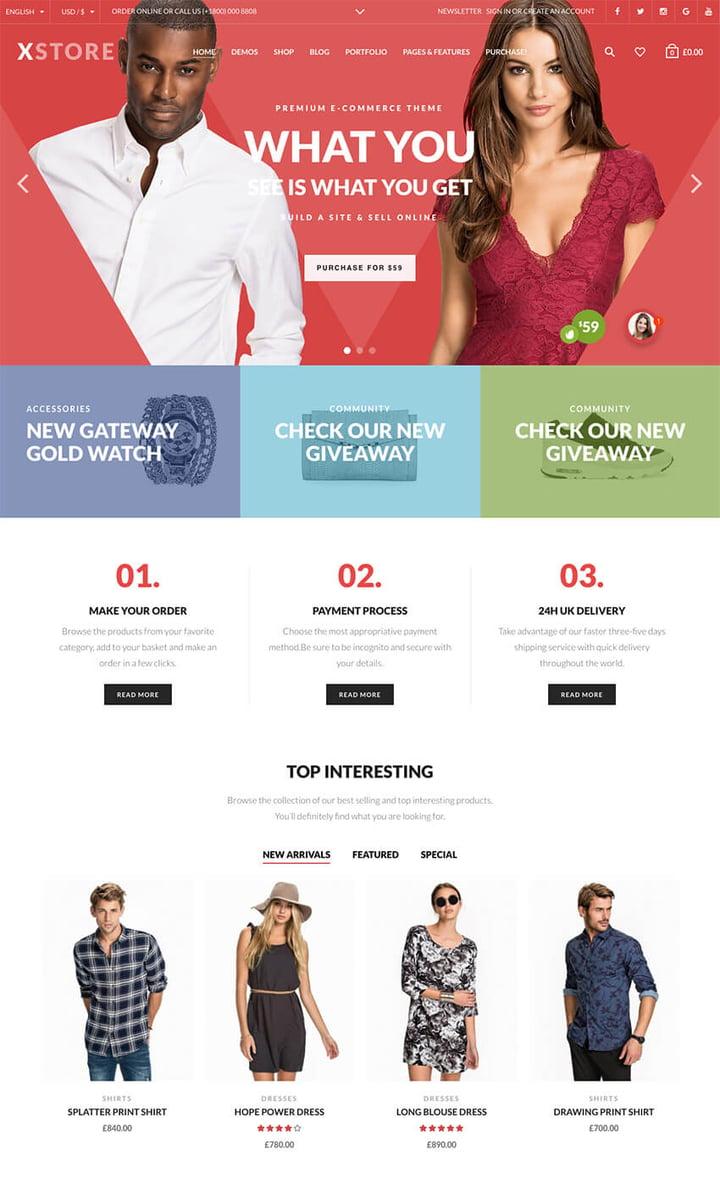 eCommerce WordPress Theme for WooCommerce
