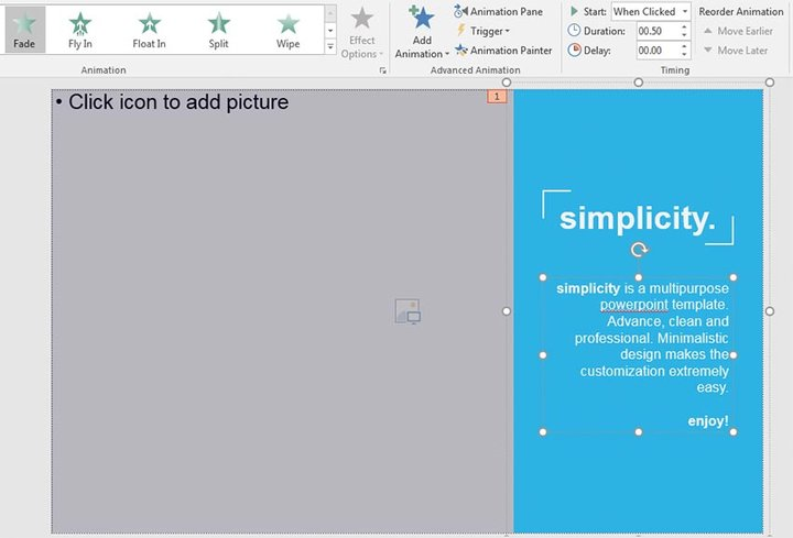 More PowerPoint Animation Styles