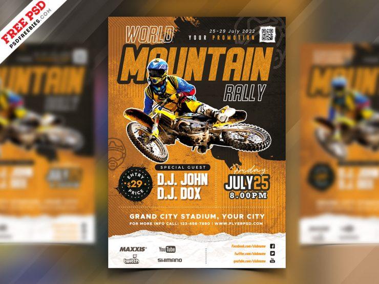 Racing Event Flyer