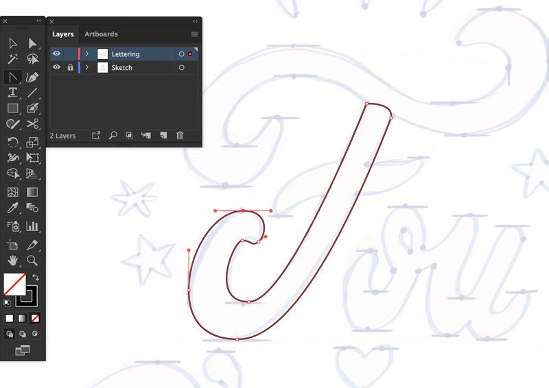 pen tool hora point tool to vertically and horizontally align handles equally stroke black 1pt