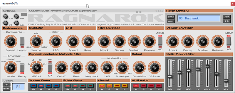 Fx synth