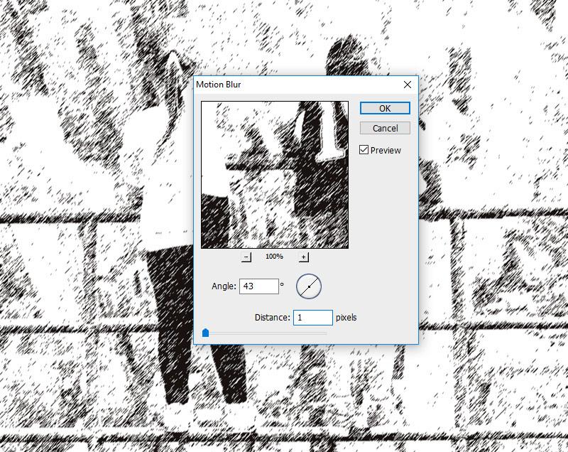 Motion Blur Photoshop Filter