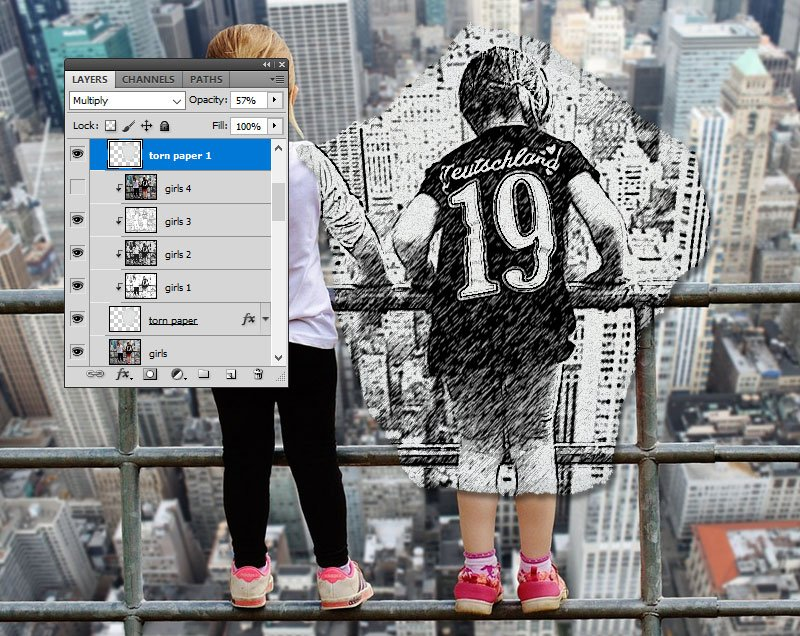 Create Paper Effect in Photoshop
