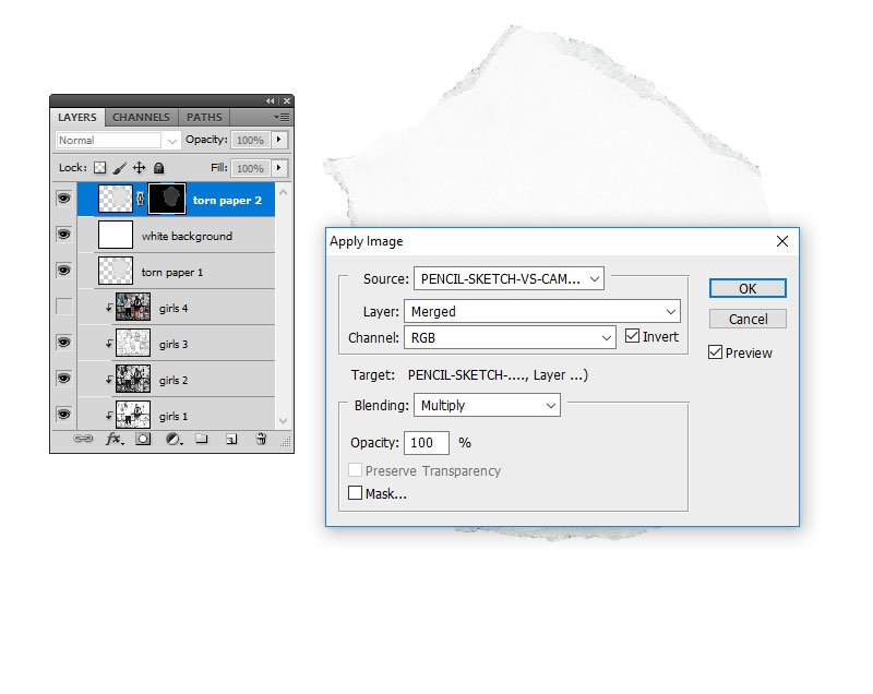 Apply Image in Photoshop