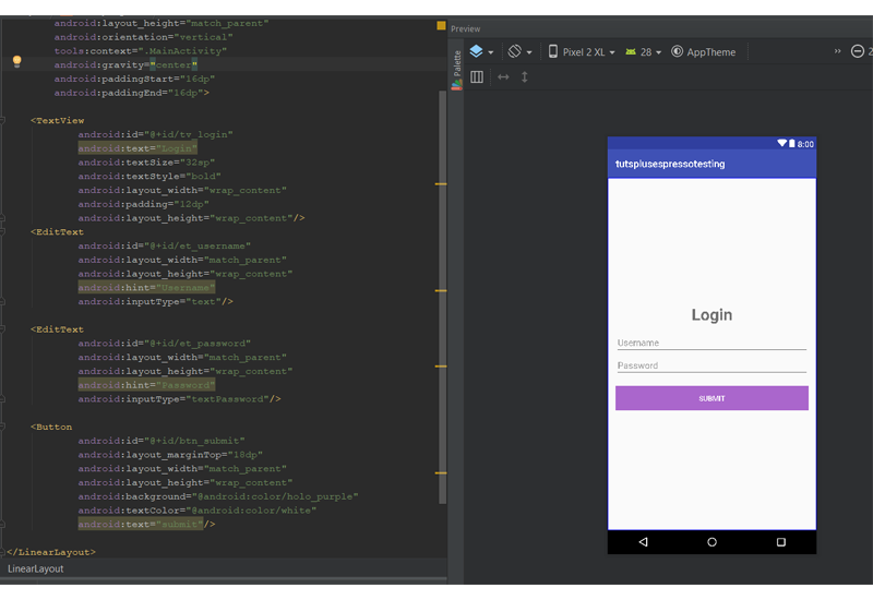 Testing Android User Interfaces With Espresso