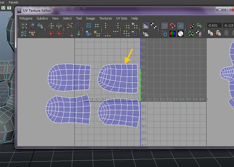 Smooth UV tool and Relax command