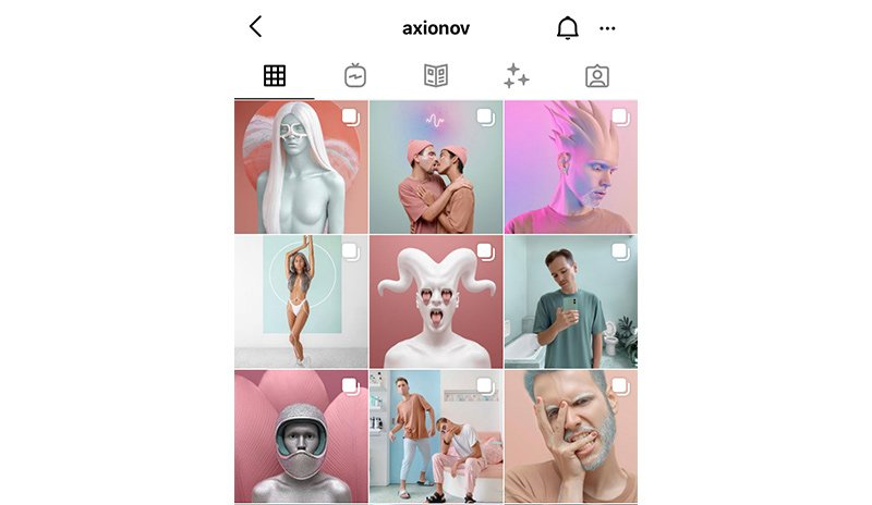 Soft Pastel Instagram feed