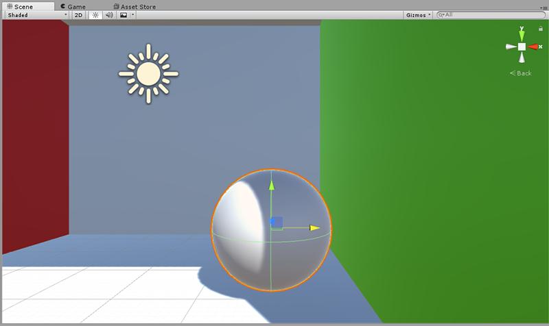 Global Illumination - Sphere surface