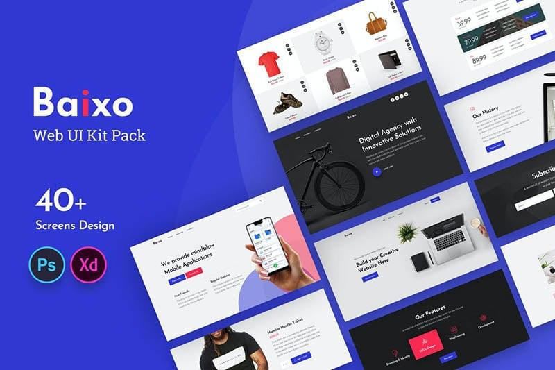 Baixo Web UI Kit
