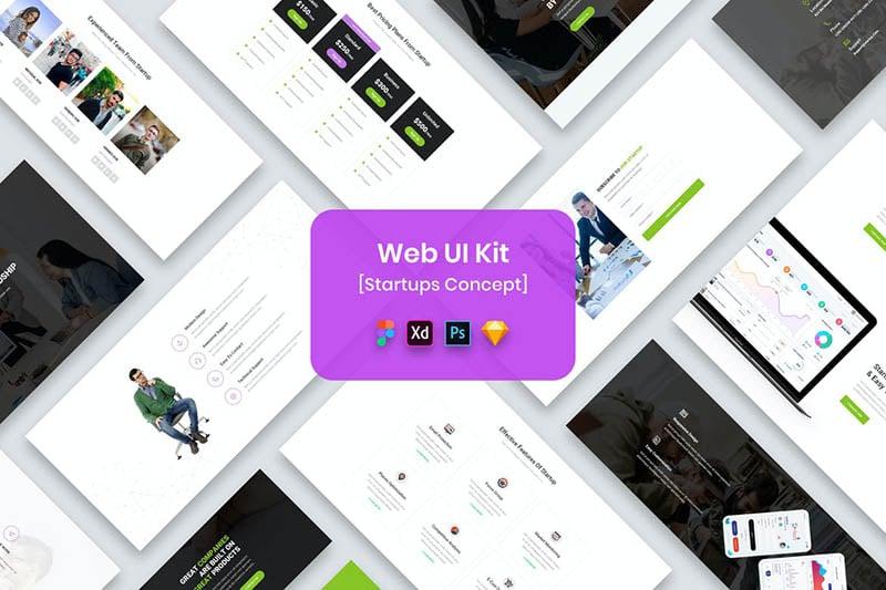 Web UI Kit Startups