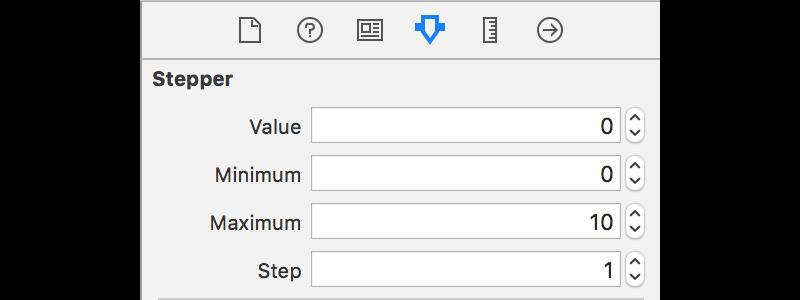 Stepper Values