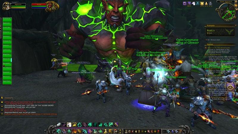 World of Warcraft gameplay
