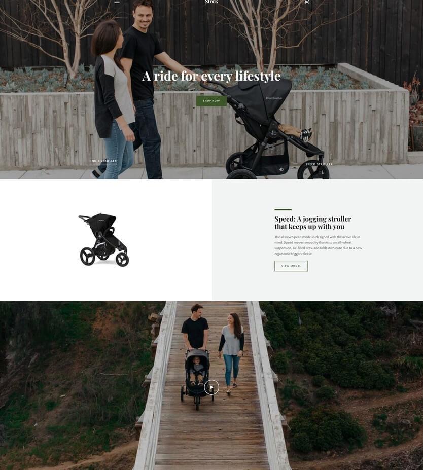 Narrative - Plantilla gratis de Shopify para página web de e-commerce
