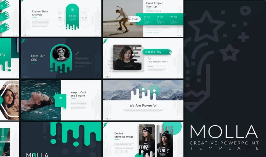 Creative Research PowerPoint Template