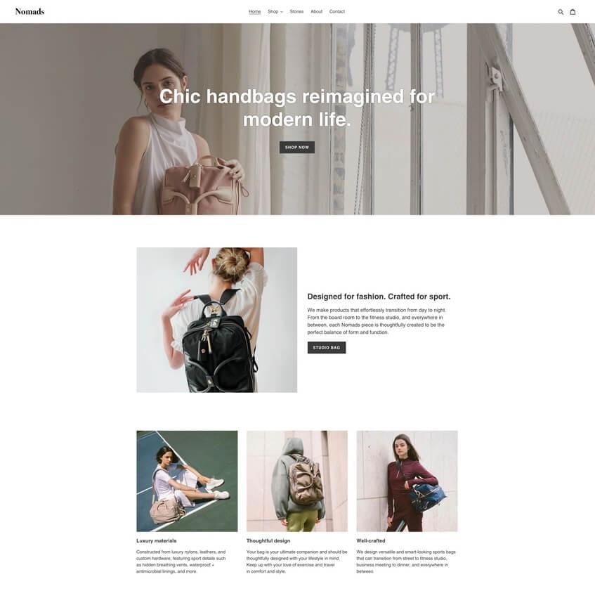 Debut Theme - Plantilla de Shopify gratis para tienda en línea
