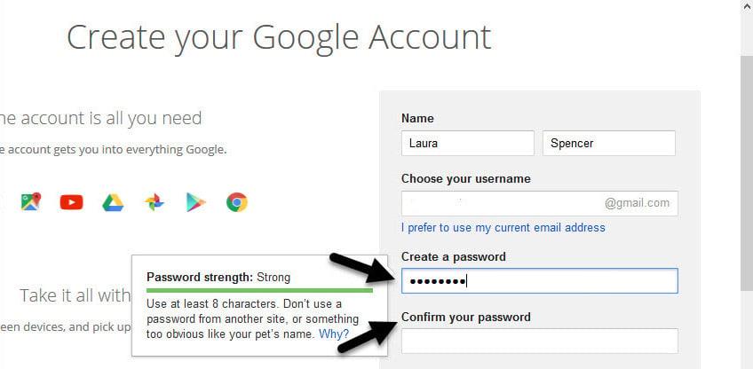 Gmail tutorials--creating a Gmail account