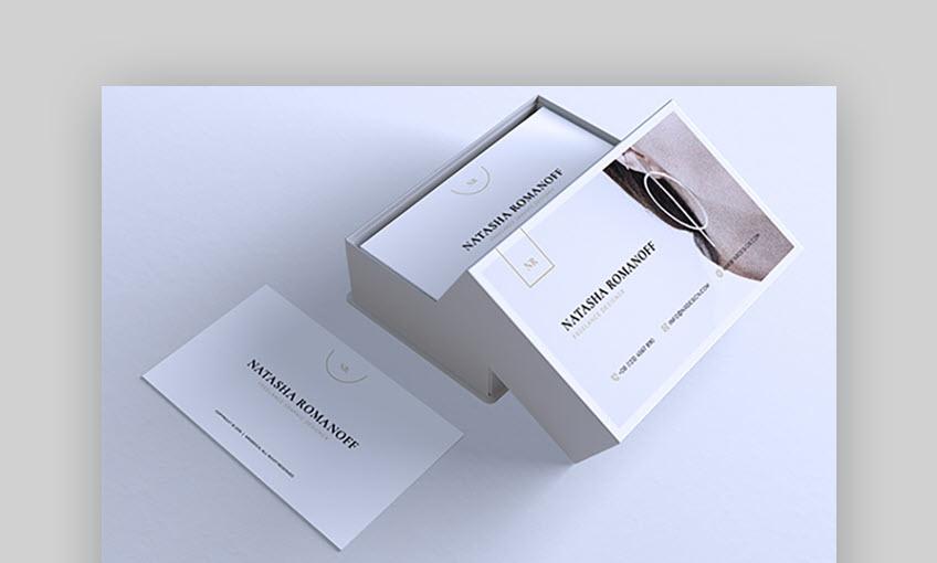 Minimalist Business Card Vol 46