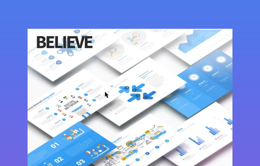 Believe Multipurpose PowerPoint Presentation Agenda Template