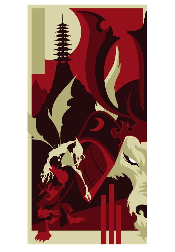 Create the Werewolf and Vampire