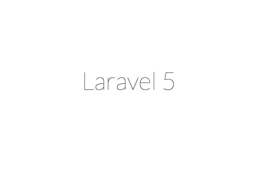 Laravel Installed