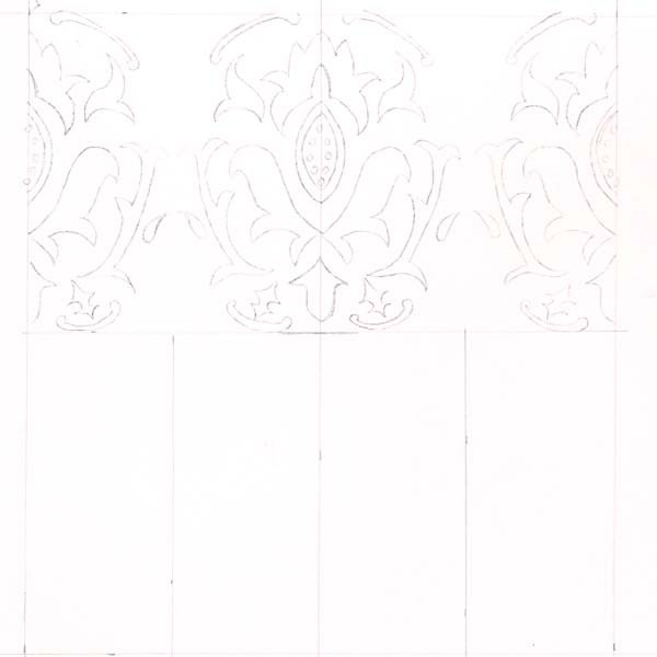 draw new guidelines for the second row or column