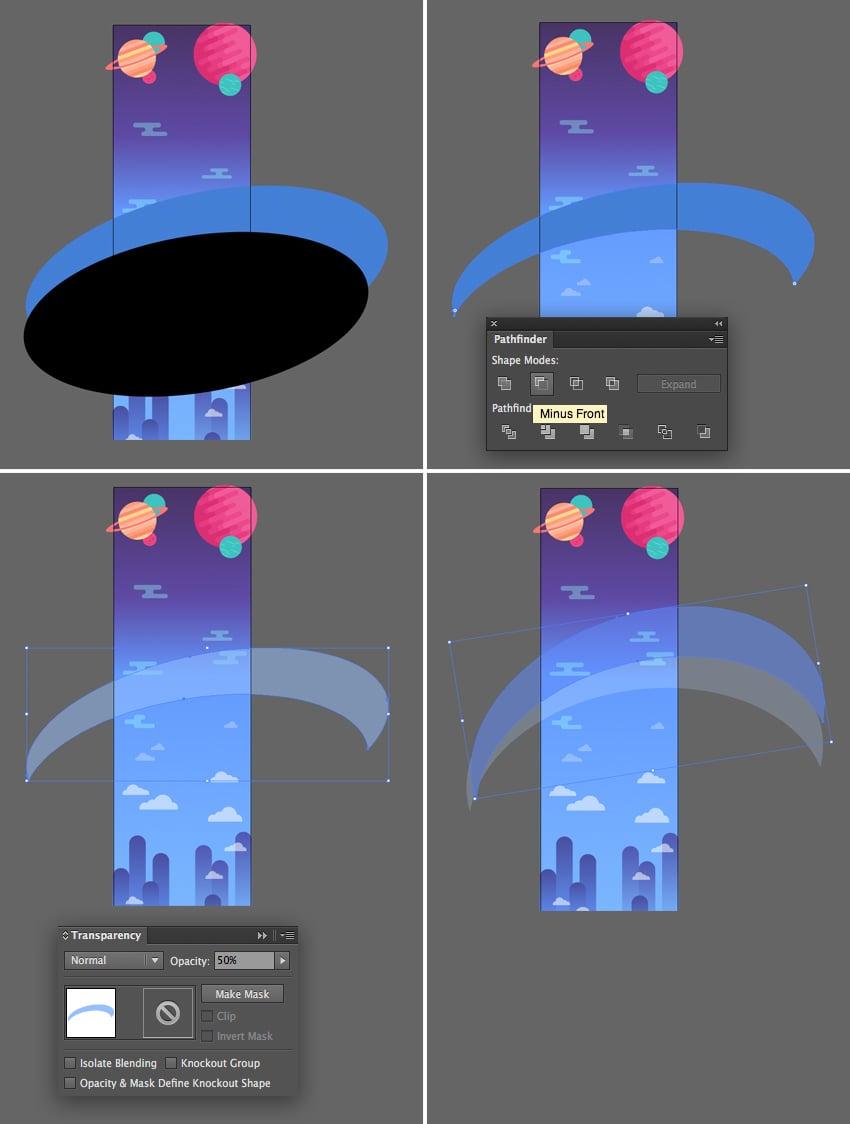 add semi-transparent shapes