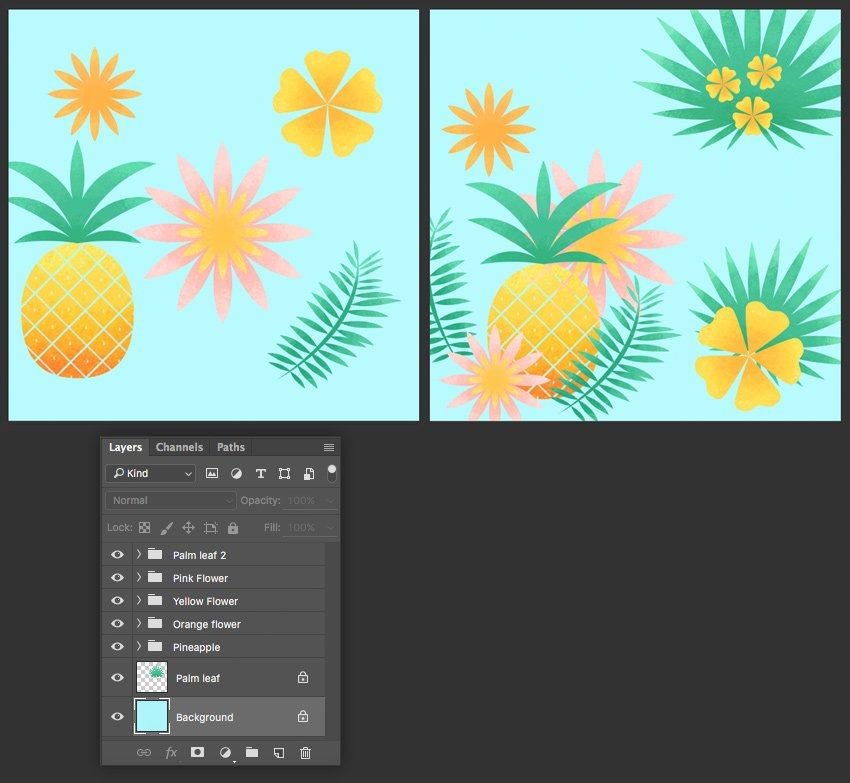 fill the background with light-blue color
