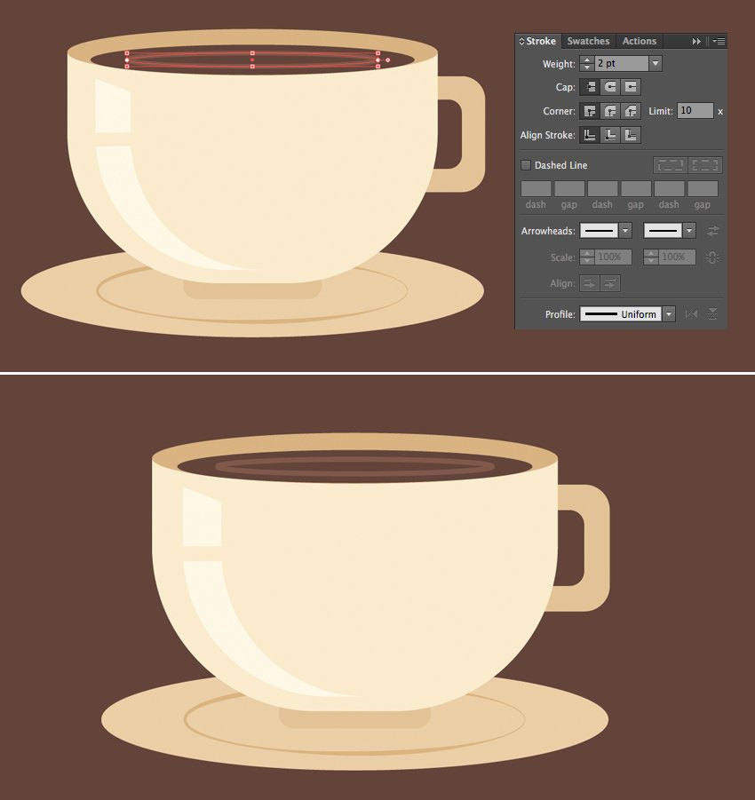 add details to coffee
