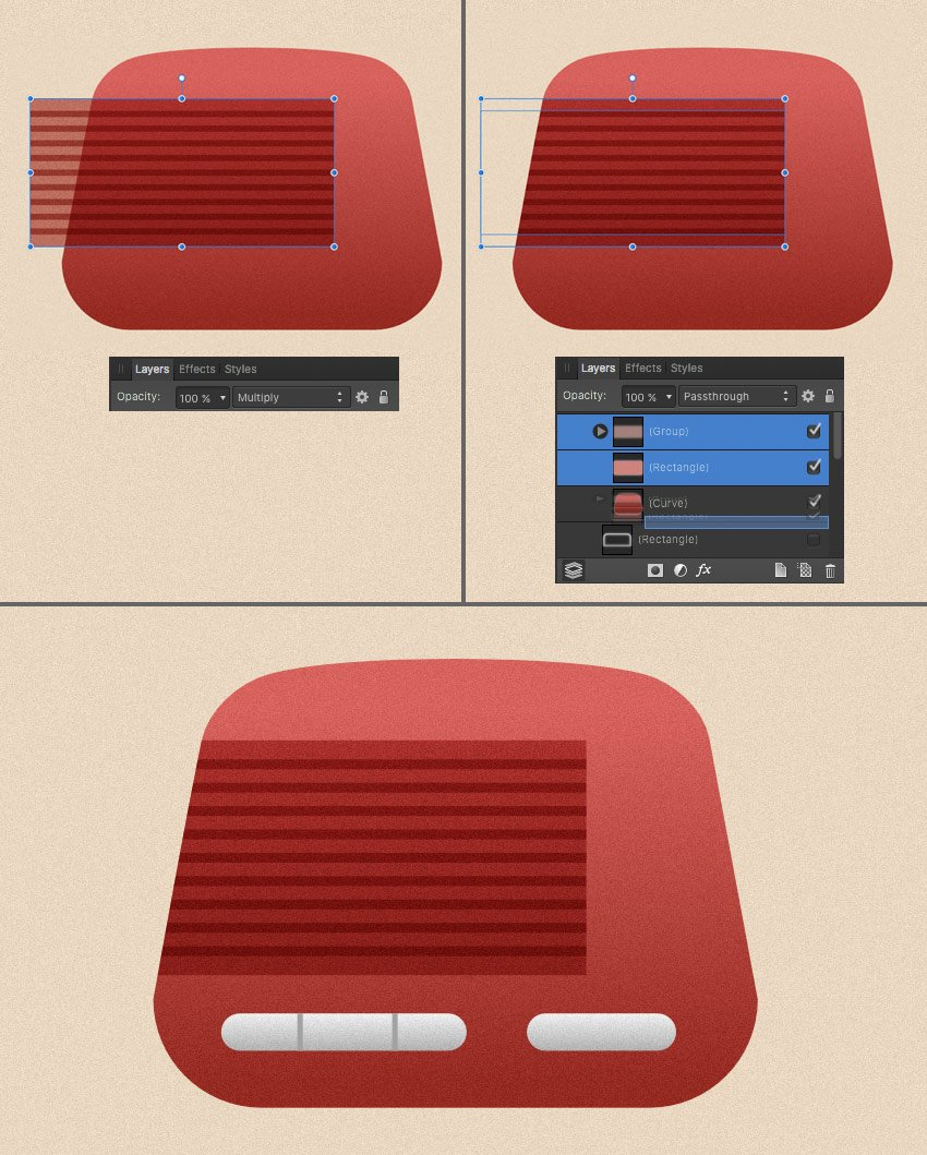 add a dynamic and some buttons to our radio