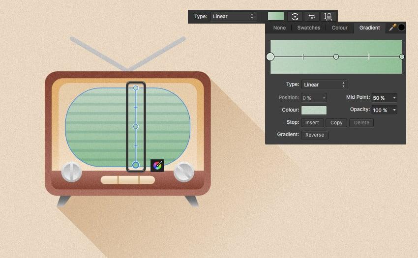 affinity designer fill tool