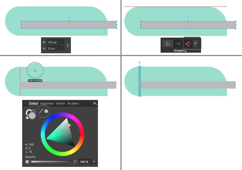add details to the mixer top