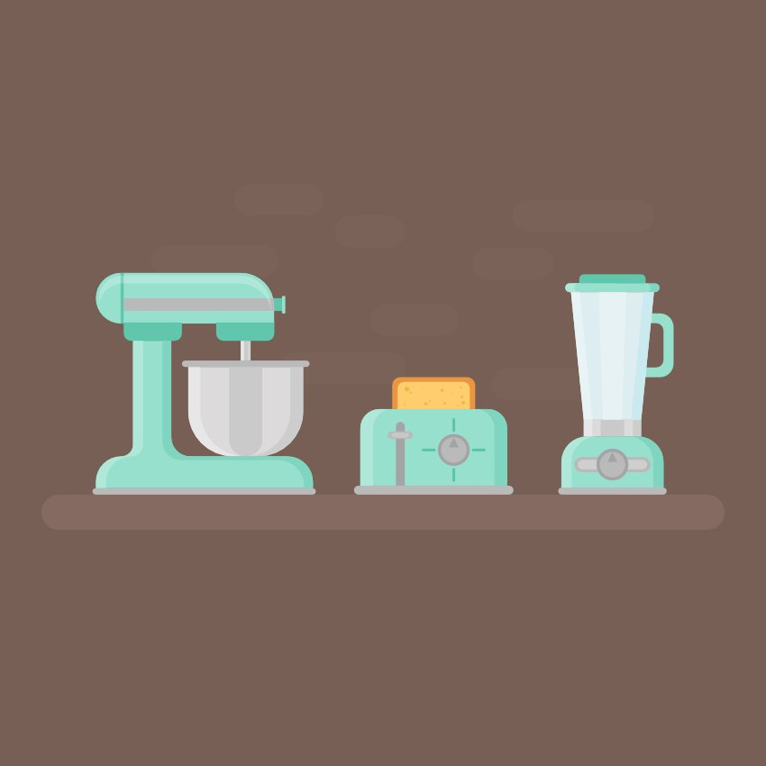 Retro Kitchen Devices are Finished