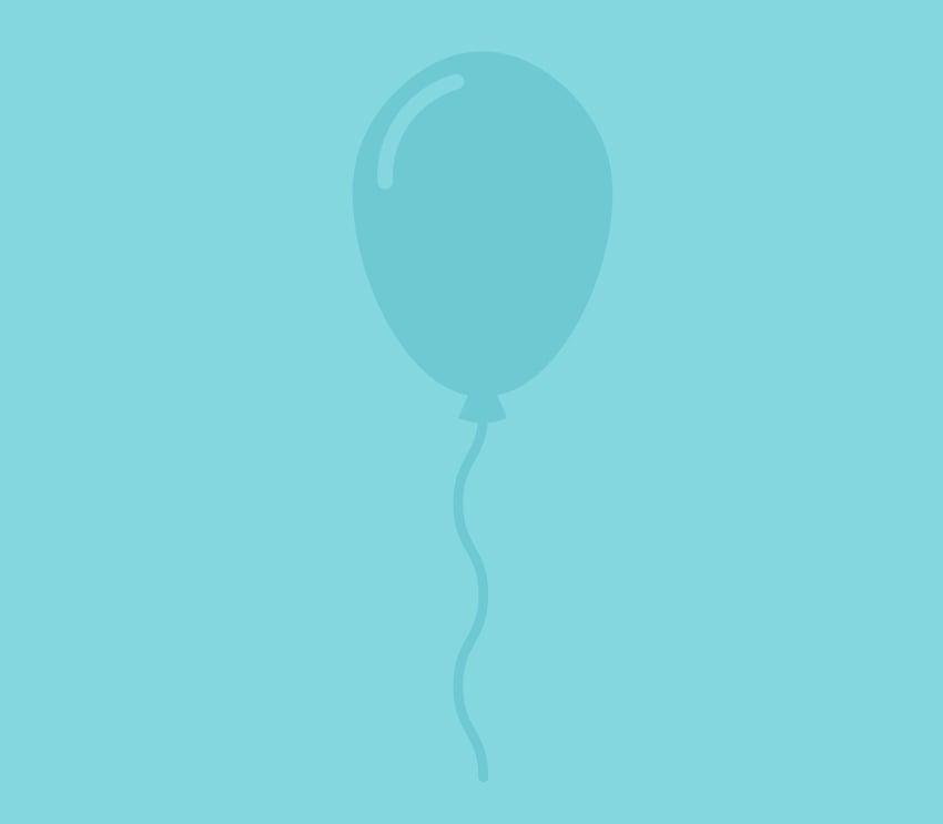 recolor the balloon