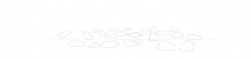 how to draw rocks simple way
