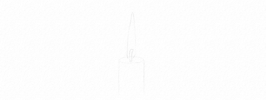 how to sketch a flame