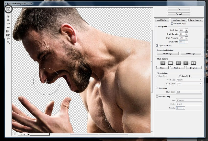 how to use warp tool